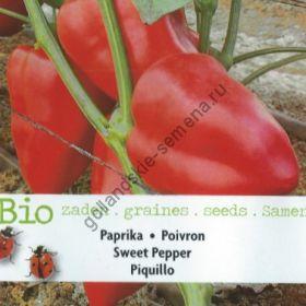 "Перец сладкий ""ПИКИЛЬО БИО"" (Piquillo BIO)  35 семян"